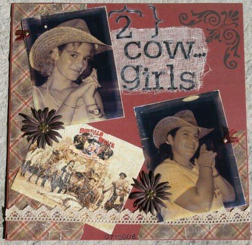 2 Cow-girls