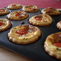 Minis-quiches au fromage