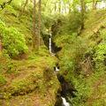 Glendalough, la cascade