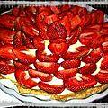 Lddd- la tarte aux fraises...