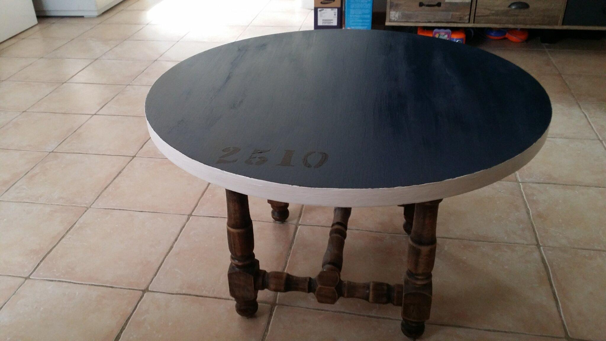"Table style ""usine"""