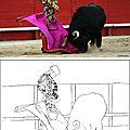 Communiqué – <b>Happycionado</b> offre des coloriages taurins aux enfants