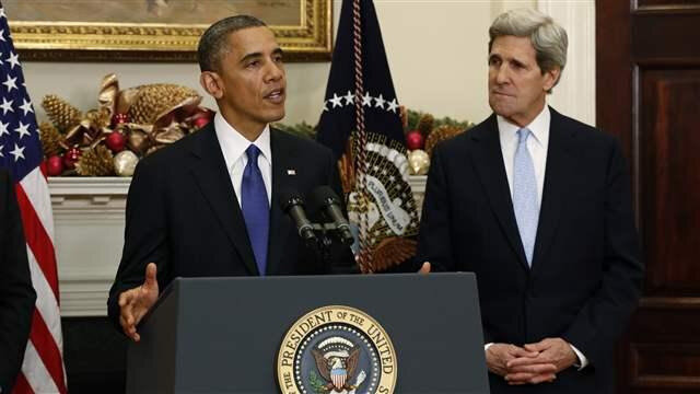 Obama and kerry