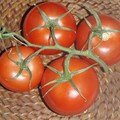 Une tomate rouge !