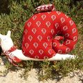 escargot tissu provencal
