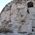 turquie cappadoce ortéhisar vallee pigeonniers