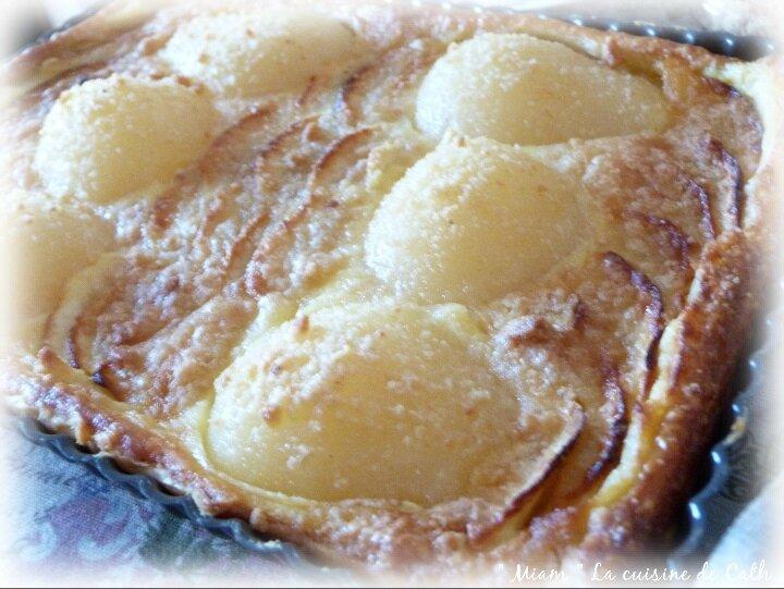 """ღ """" Miam """" Feuilleté Pomme-Poires au Crumble ( et à la crème pâtissière )"""