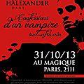 Confessions d'un vampire sud-africain 31/10/2013 (theatre)