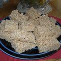 Carrés au rice krispies
