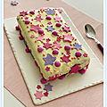 Gâteau à la vanille étoilé
