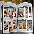 <b>Miniatures</b> au 1/12e : I - Vitrines en carton et balsa