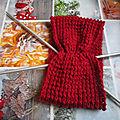 Head-bands en laine