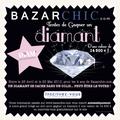 Le diamant de bazar chic
