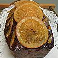 CAKE AUX ORANGES CONFITES