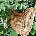 Moitié tricot-moitié crochet