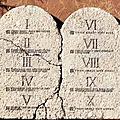 Évangile et homélie du dim 04 mars 2018. les dix commandements