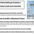 Castres: la justice doit maintenant rendre ses enfants à sandrine