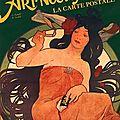 L'art nouveau, la carte postale, partie 1 : issn 2607-0006