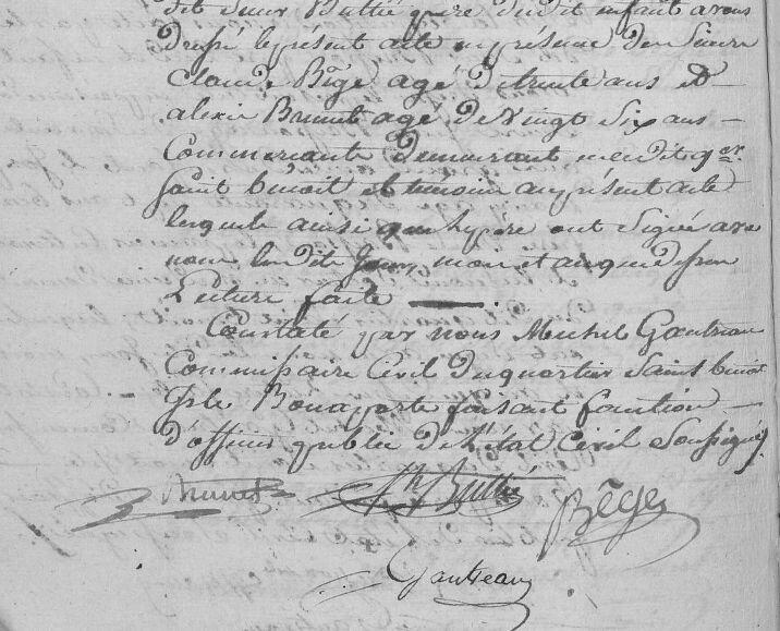 Buttié Joseph Charles_né 15.3.1809_St Benoit