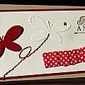 Une invitation à créer ... un lift ... une envolée de papillons et une touche couture !