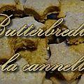 Ma recette des butterbredla à la cannelle