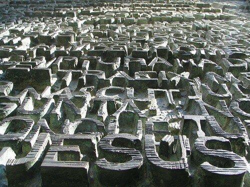 Sagrada Familia Facade écriture