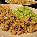 Salade de riz sauvage avec un air de maki (recette allégée)