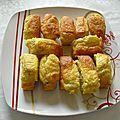 Mini-cakes au crabe
