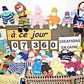 Tricot compteur du 5 juin 2014 : 127 nouvelles créations en 15 jours ! bravo à toutes et tous...