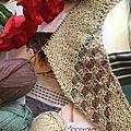 Kal pour tricoter un châle <b>Moonraker</b> 1)
