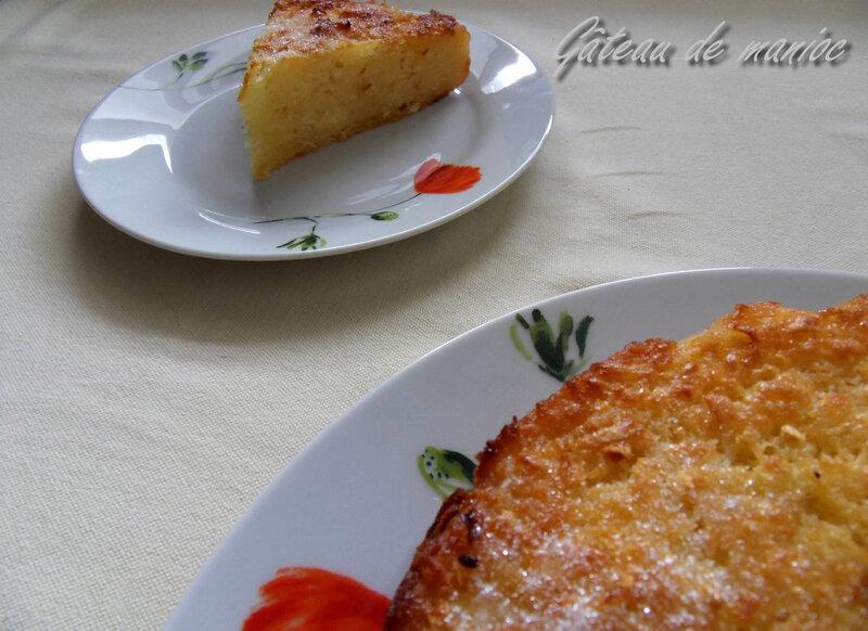 gâteau de manioc