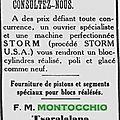 Montocchio Michel_L'Echo du Sud_2.9.1933