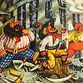 Les brigands (les musiciens de Brême)