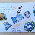 tiche emilie art postal fête du fil 2013