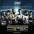 ONE FC 8 :