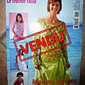 Livre Magazine LE CROCHET FACILE - 1 €