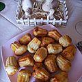 Muffins chorizo ricotta parmesan façon cannelés