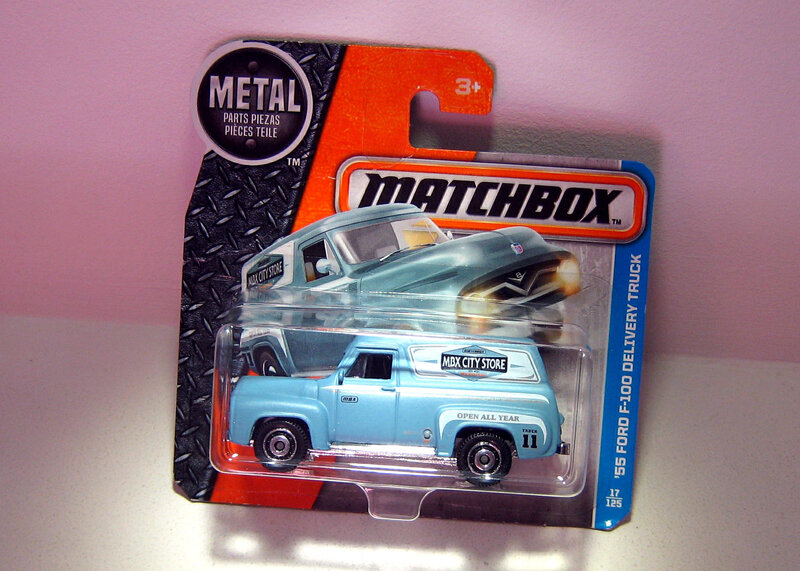 Ford F-100 Delivery Truck de 1955 (Matchbox)