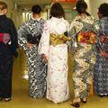 a a a aamodeling de Kimono et paysages de Kadogawa