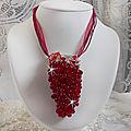 Collier pendentif Tendre Rouge 0-1