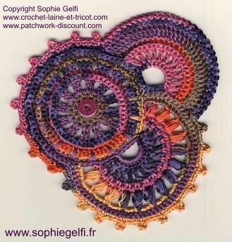 Tuto 1 Crochet Freeform