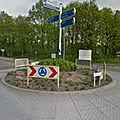 Rond-point à <b>Heel</b> (Pays-Bas)