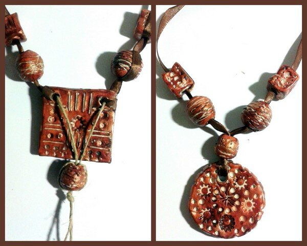 """Collier style """"africain"""""""