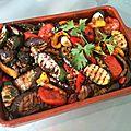 Salade de légumes grillés (italie)