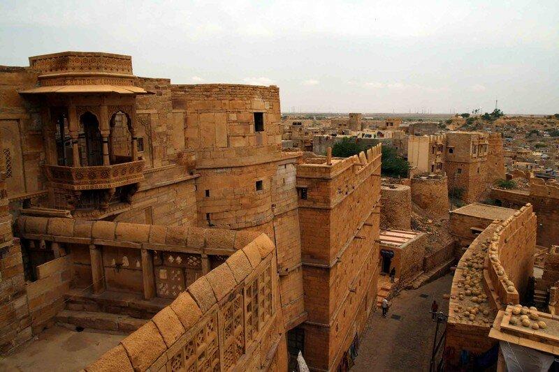 Jaisalmer Fort, detail