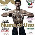 Djokovic, sujet principal de <b>GQ</b> Italia
