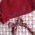 Bonnet et collier pour Norah
