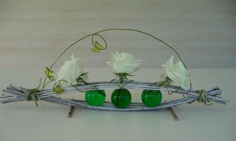 D coration florale loumajinne - Decoration florale noel ...