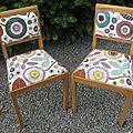 Les chaises de mathilde (réservées)