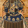 Anonymous, An <b>Ancestor</b> Portrait of a Qing Courtier